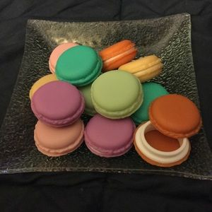 "Handbags - NEW ""Macaroon Cookie"" Containers"